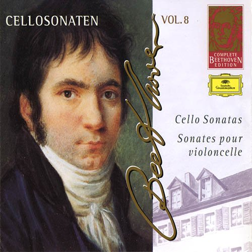 Complete Beethoven Edition Vol. 8 - Cello Sonatas