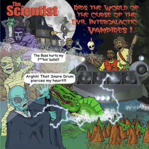 The Scientist Rids The World Of The Intergalactic Vampires