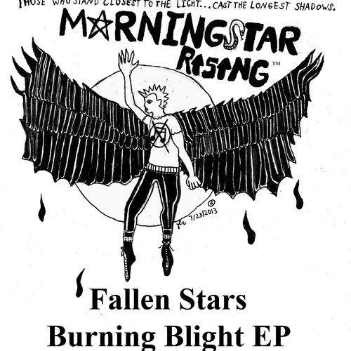 Fallen Stars Burning Blight EP