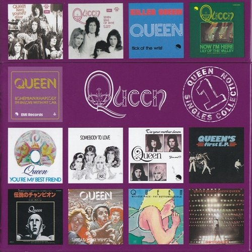 Queen Singles Collection 1