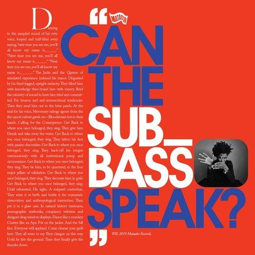 Can the Sub_Bass Speak? - Single