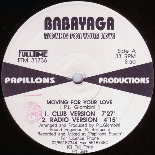 Moving for Your Love