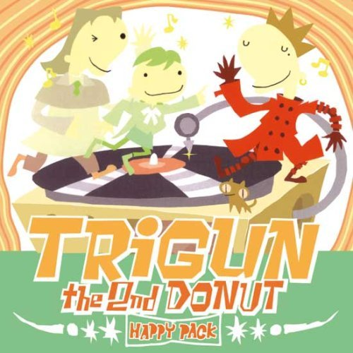 TRIGUN THE 2nd DONUT HAPPY PACK