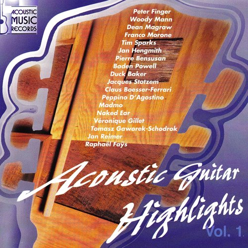 Acoustic guitar highlights (Volume 1)