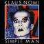 Klaus Nomi - Simple Man album artwork