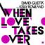 When Love Takes Over - mp3 альбом слушать или скачать