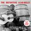 Leadbelly - The Definitive Leadbelly album artwork