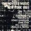 Improvised Music New York 1981