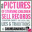 Chumbawamba - Pictures of Starving Children Sell Records album artwork