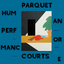 Parquet Courts - Human Performance album artwork