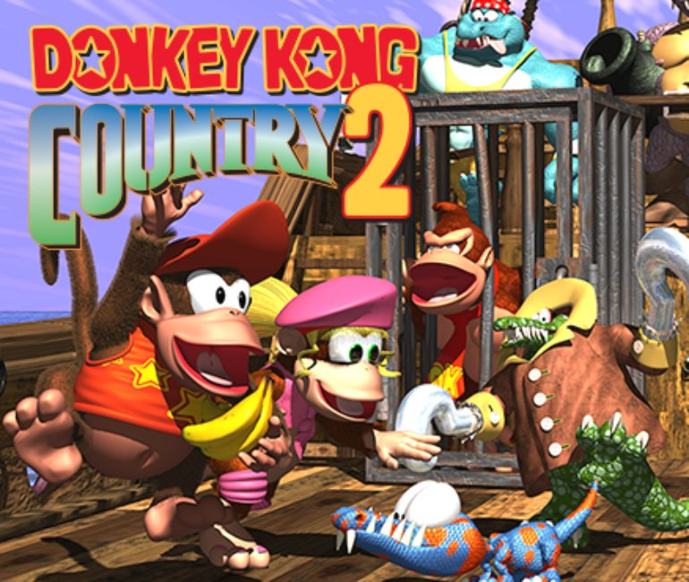 David Wise - Donkey Kong Country 2: Diddy's Kong Quest Artwork (3 of 6) |  Last.fm