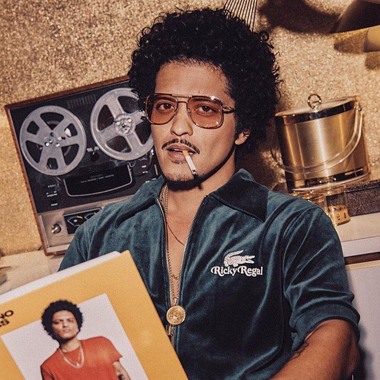 Bruno Mars, Lacoste x Ricky Regal