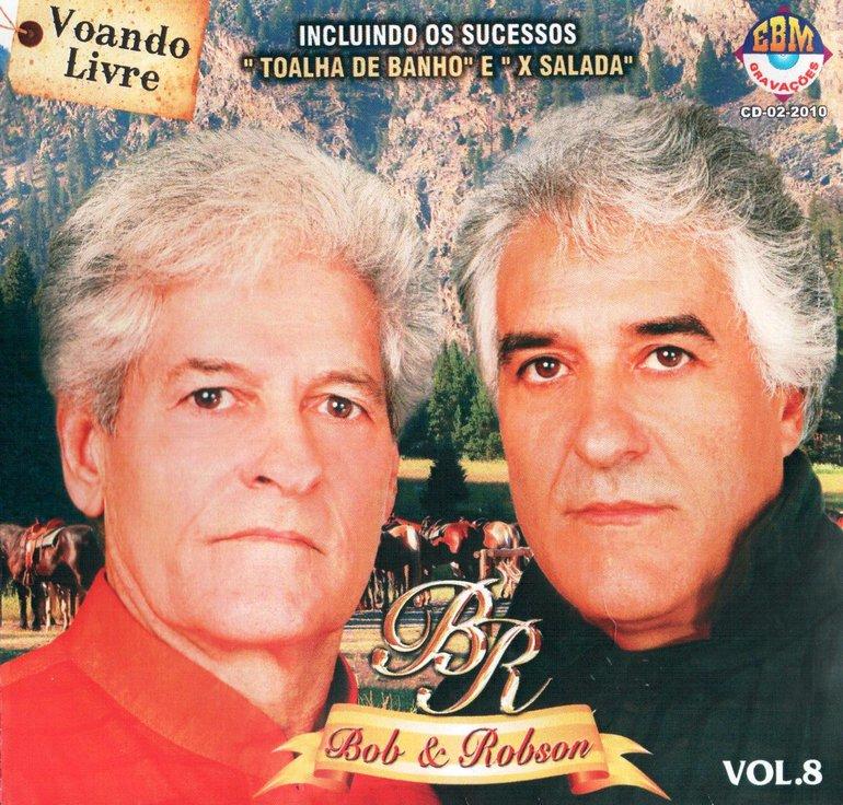 Bob & Robison - Bob & Robison Vol. 8 - Voando Livre Capa (1 de 1 ...