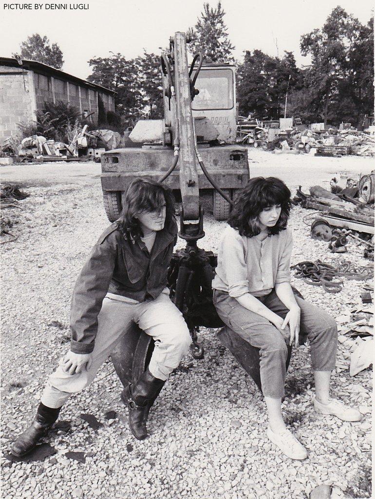 Incontrollabili Serpenti circa 1987 - foto by Denni Lugli