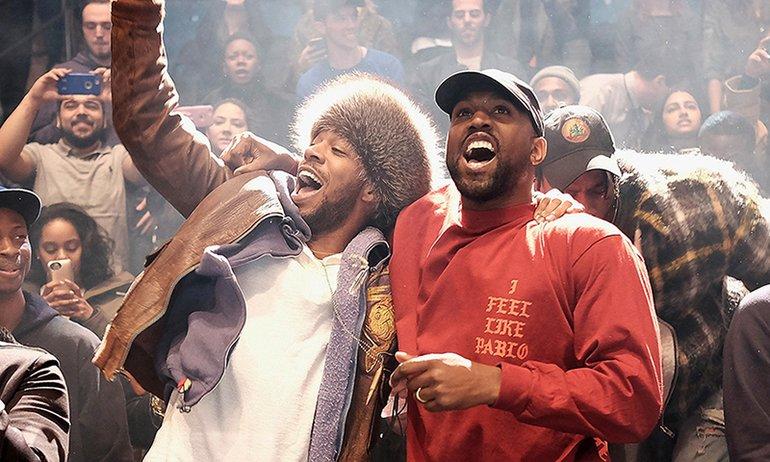 Kanye and Cudi