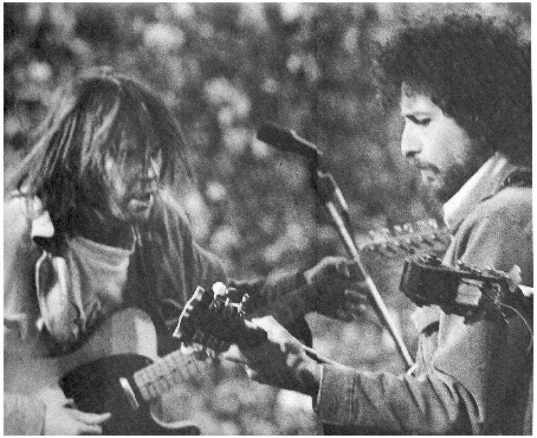 """Résultat de recherche d'images pour """"Neil Young and Bob Dylan"""""""