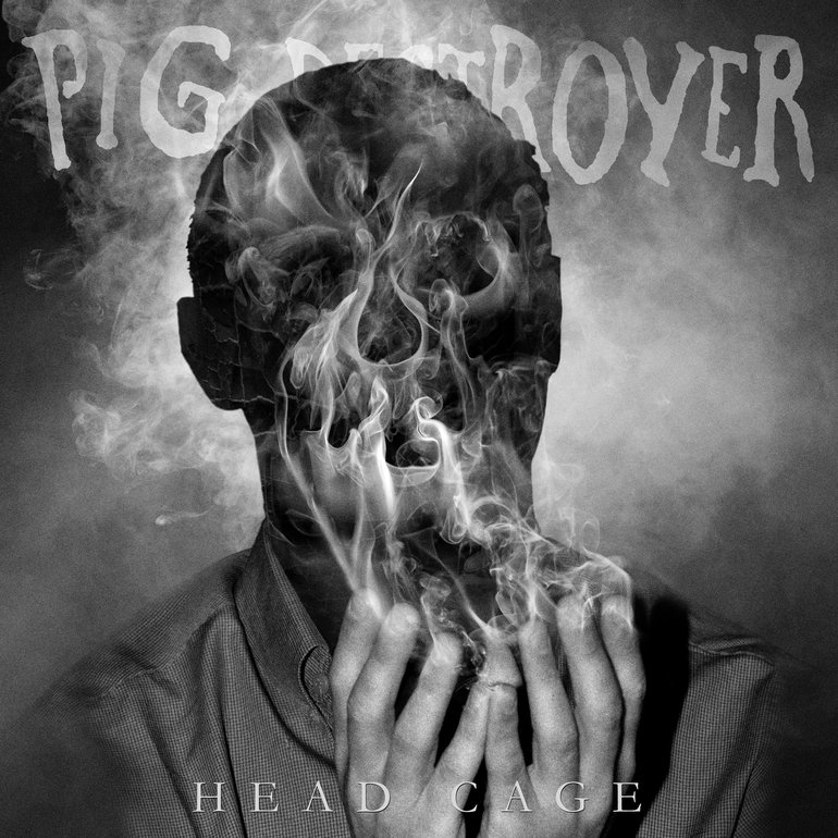 Image result for Pig Destroyer head cage art""
