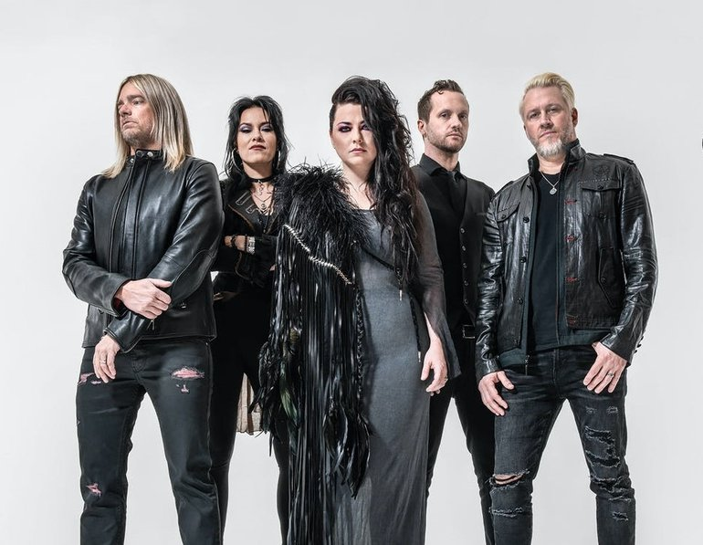 Evanescence for Kerrang! Magazine, 2020.