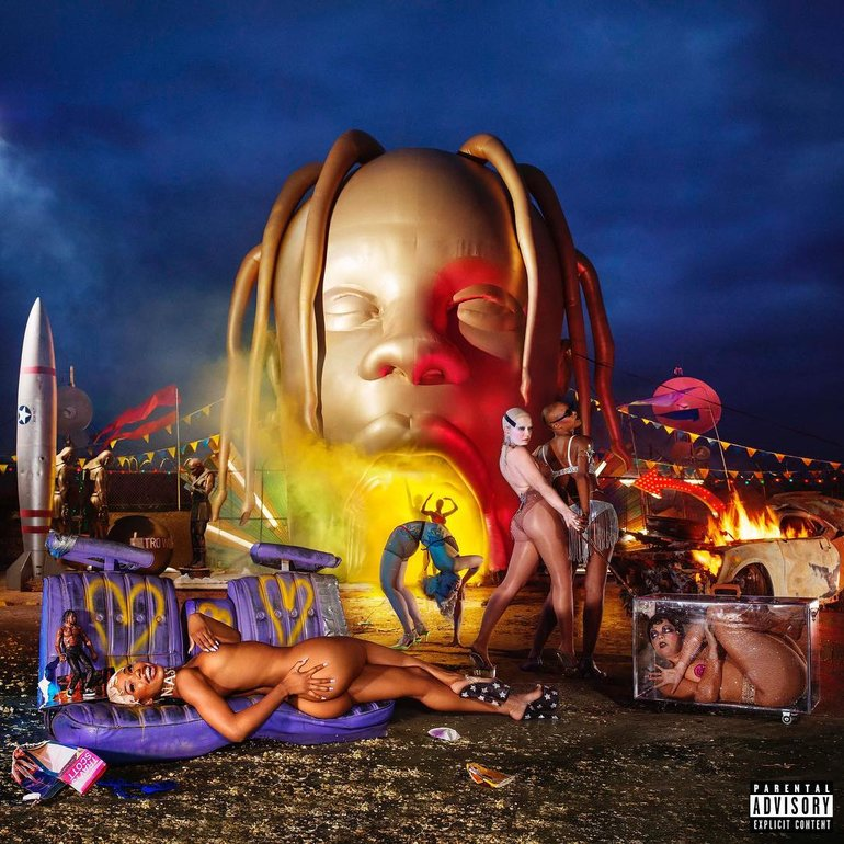 OFFICIAL ASTROWORLD ART #2