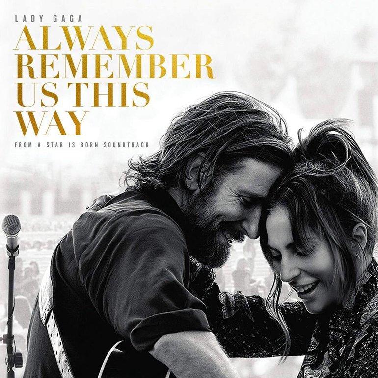 Resultado de imagem para Always Remember Us This Way by Lady Gaga cover art hd