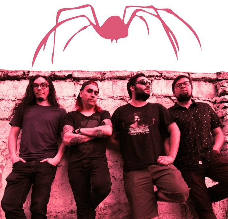 La Araña promotional band photo