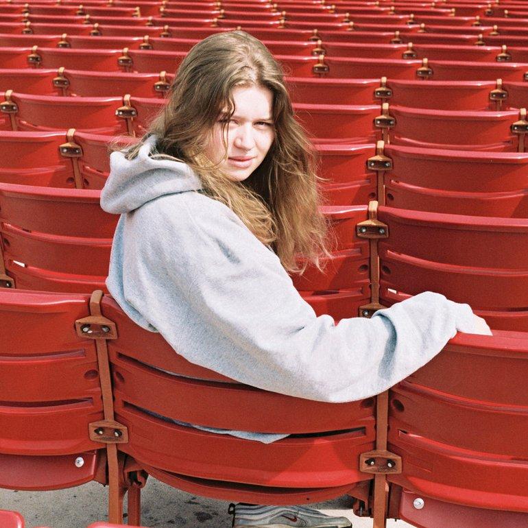 girl in red