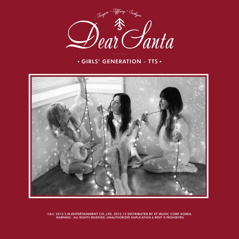 Girls' Generation-TTS - Dear Santa - X-Mas Special Artwork (2 of 3 ...