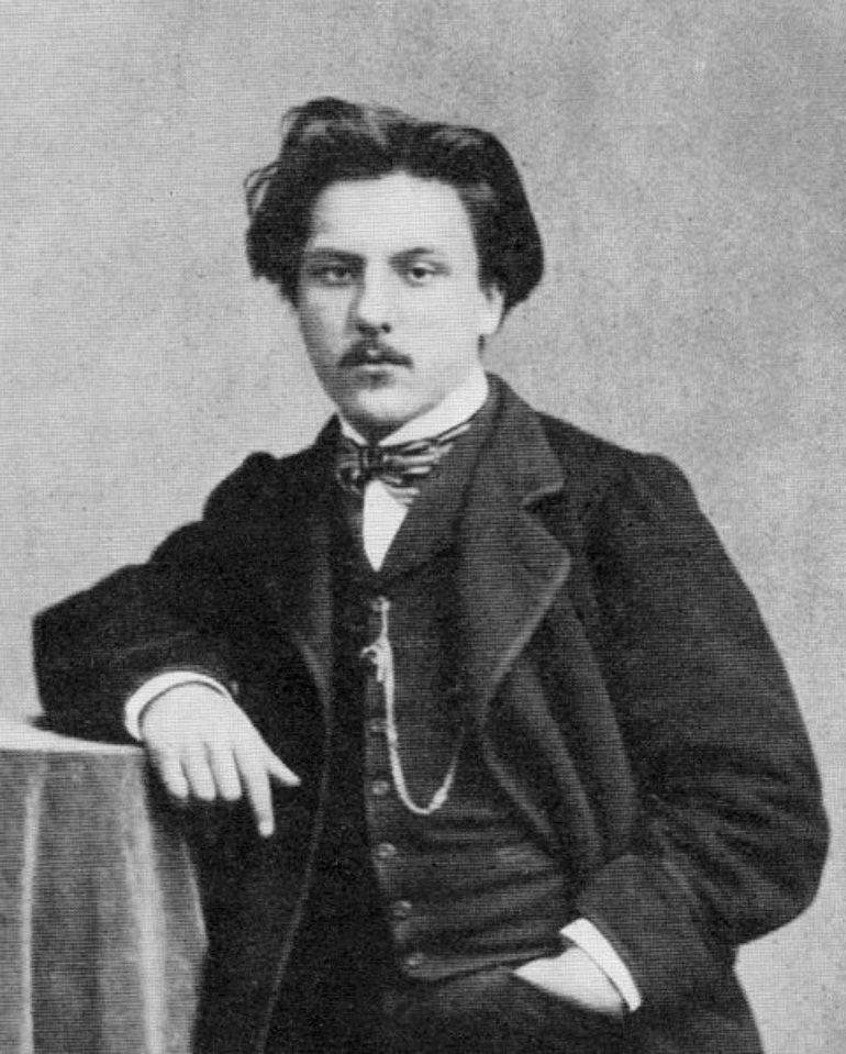 Gabriel Fauré in 1864