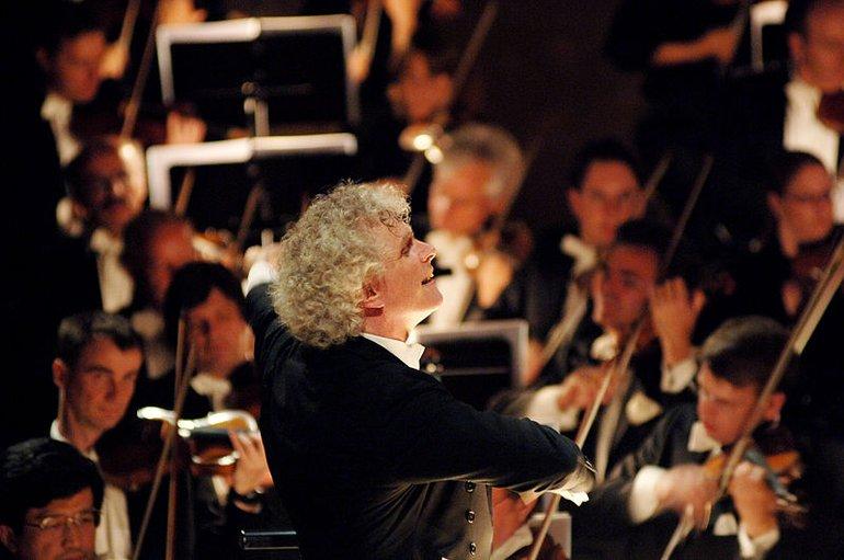 Simon Rattle and Berliner Philharmoniker