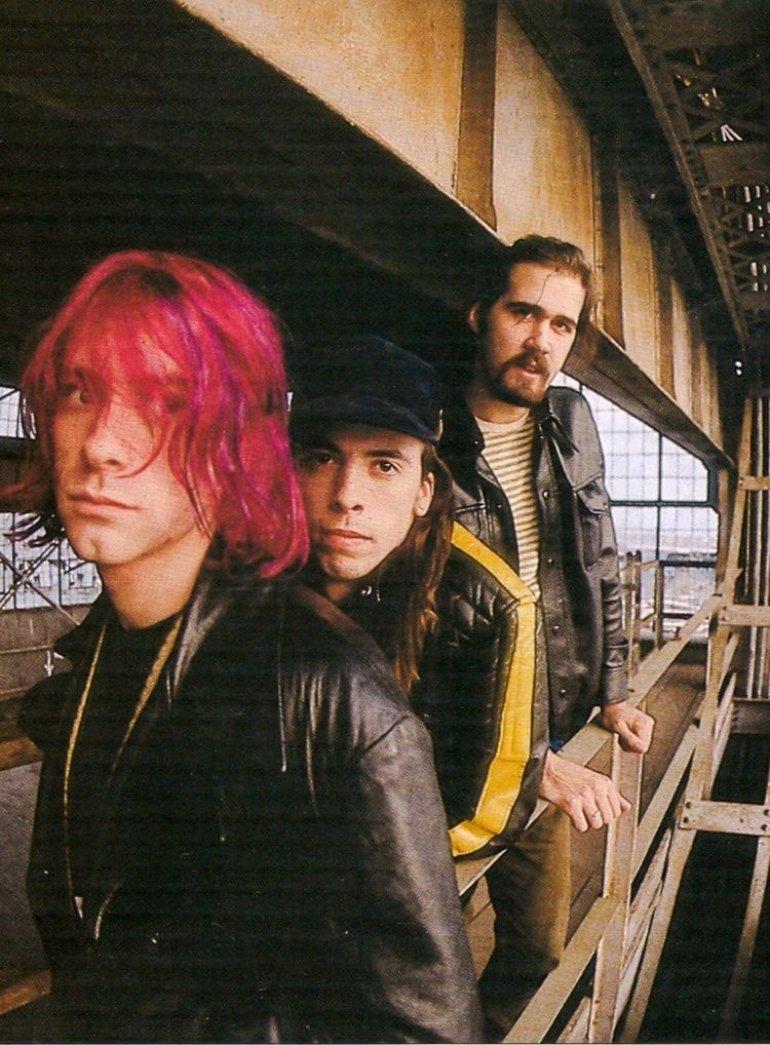 Kurt, Dave and Krist