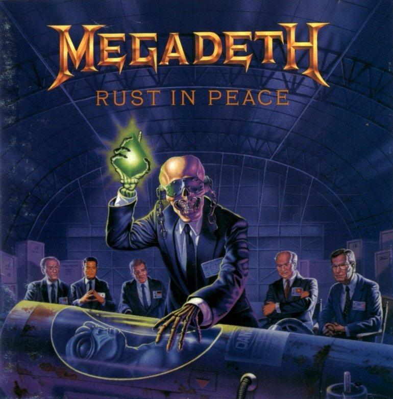 Megadeth Rust In Peace Carátula 18 De 24 Lastfm