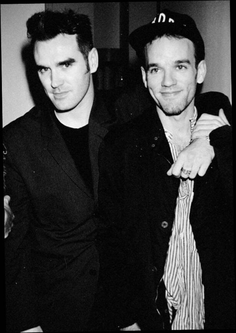 Morrissey and Michael Stipe
