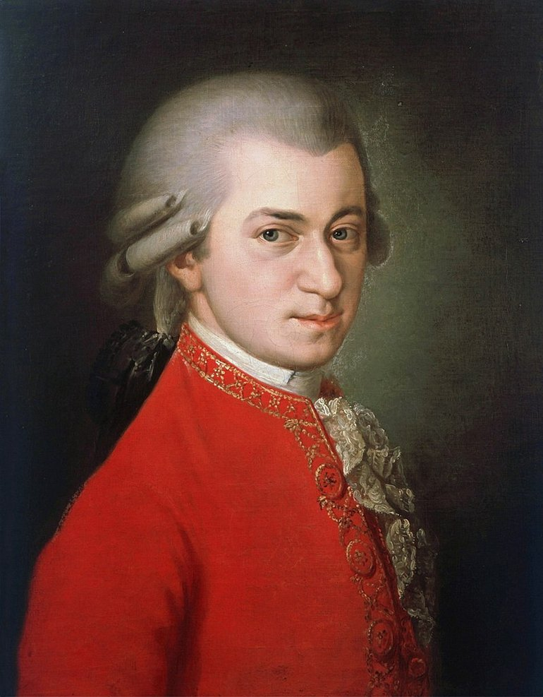 Mozart by Barbara Krafft