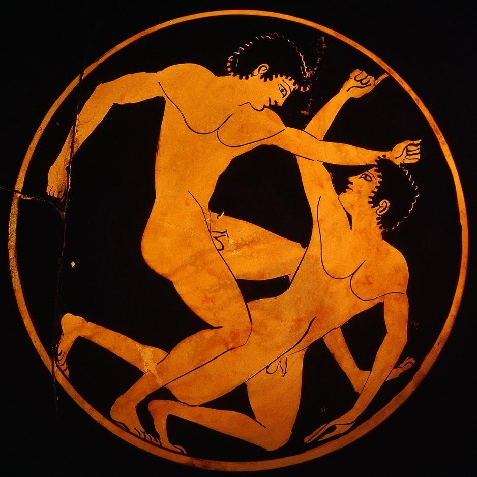Рисунок олимпийские игры в древней греции