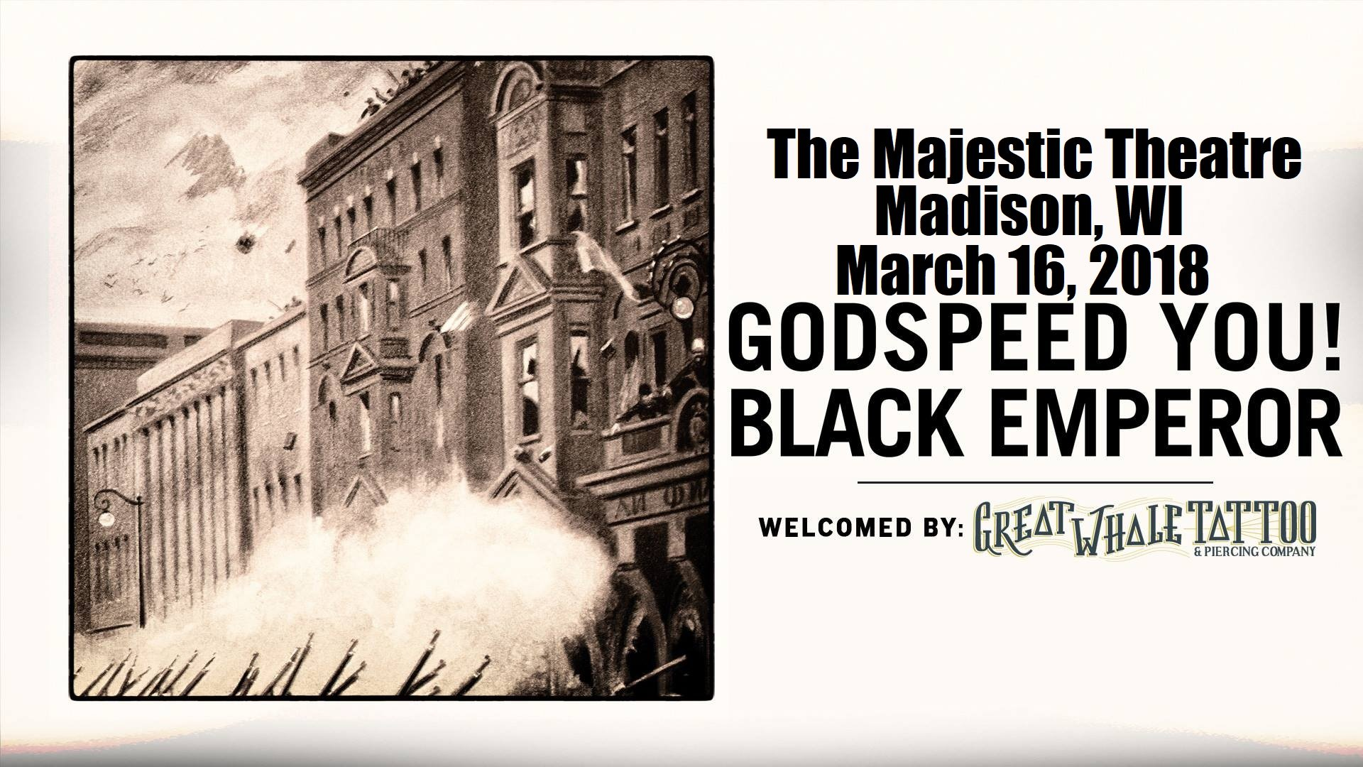 Godspeed You Black Emperor At Majestic Theatre Madison On 16