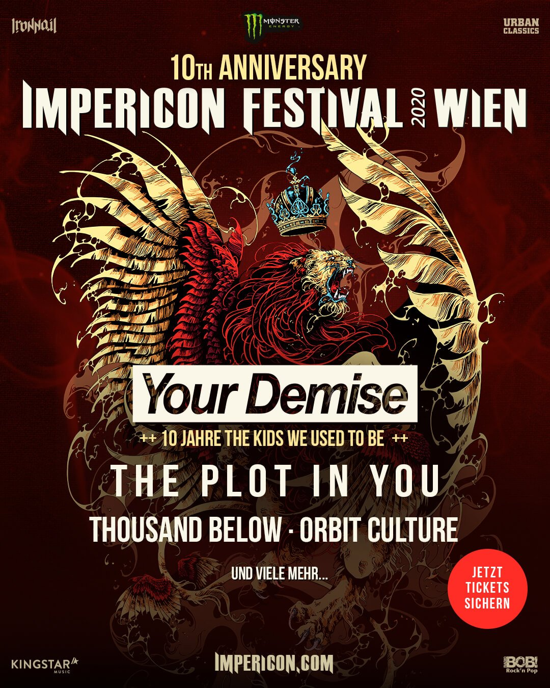 Phish Festival 2020.Impericon Festival 2020 At Arena Wien Wien On 10 Apr 2020