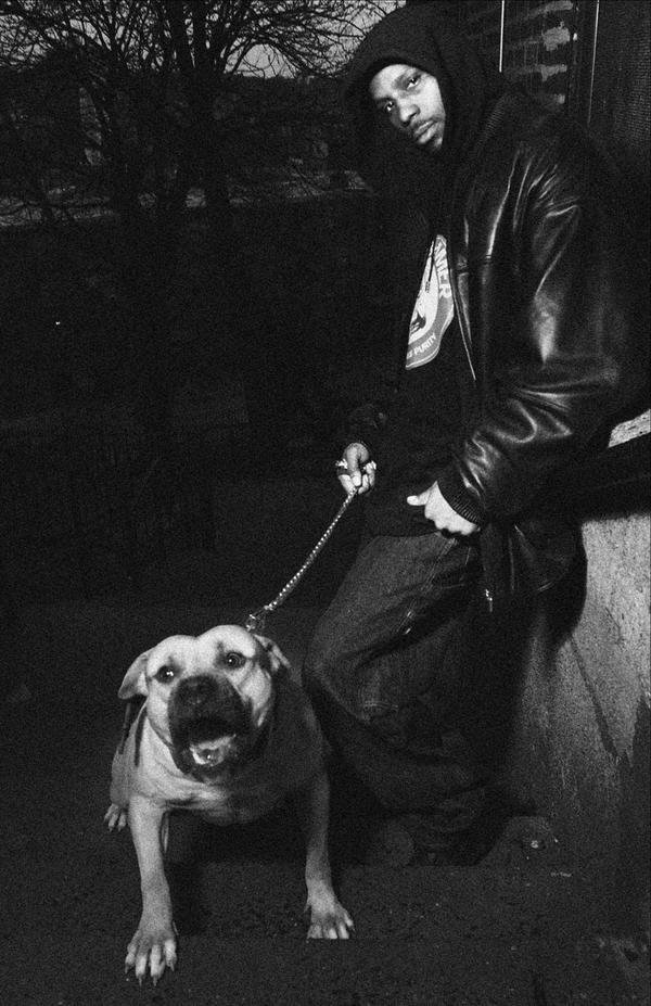 Картинки пацанов в маске с собакой