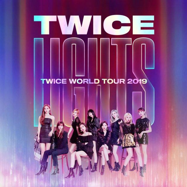 Twice World Tour 2019 Twicelights Im Prudential Center Newark