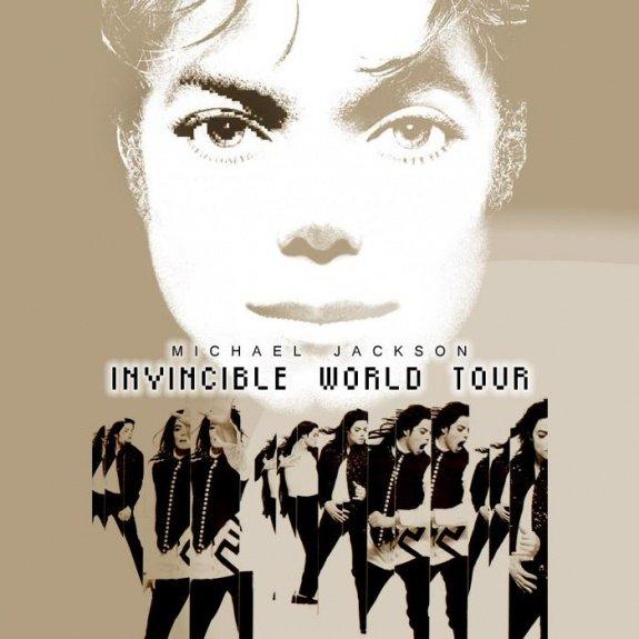 Invincible World Tour Michael Jackson Last Fm