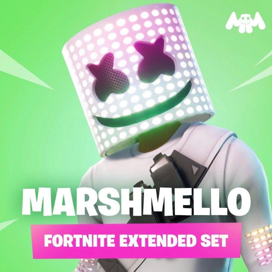 Marshmello - Marshmello Fortnite Extended Set (DJ Mix) Artwork (1 of 1)    Last.fm