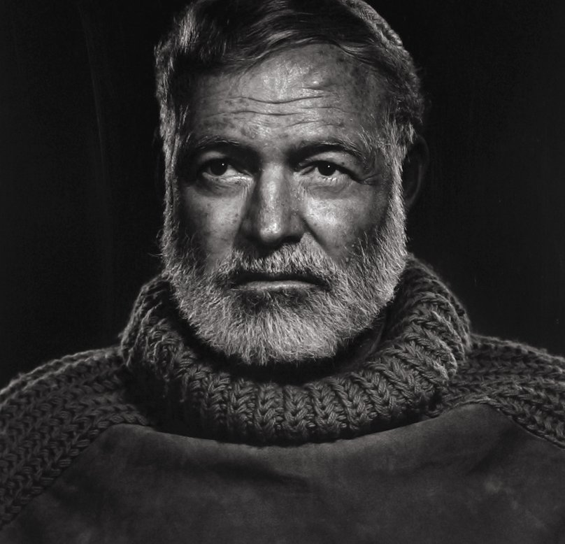 фото хемингуэя с бородой берег пережил нашествие
