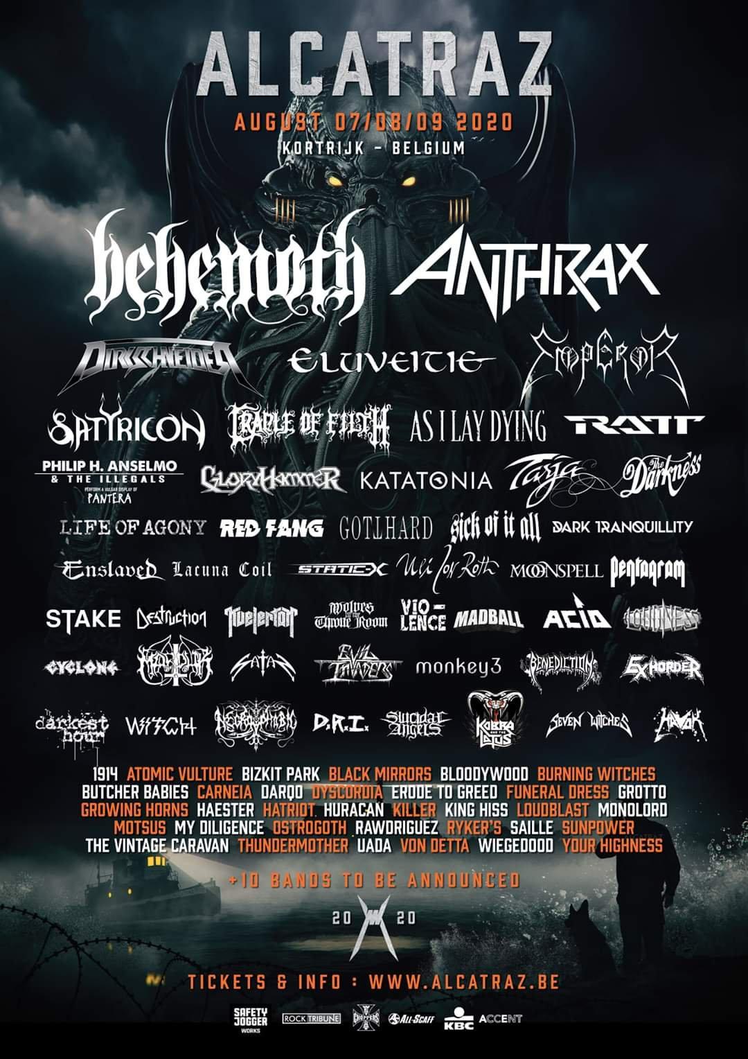 Bildergebnis für alcatraz metal festival