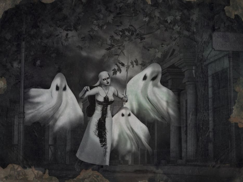 пожаловать картинки мистические духи потом