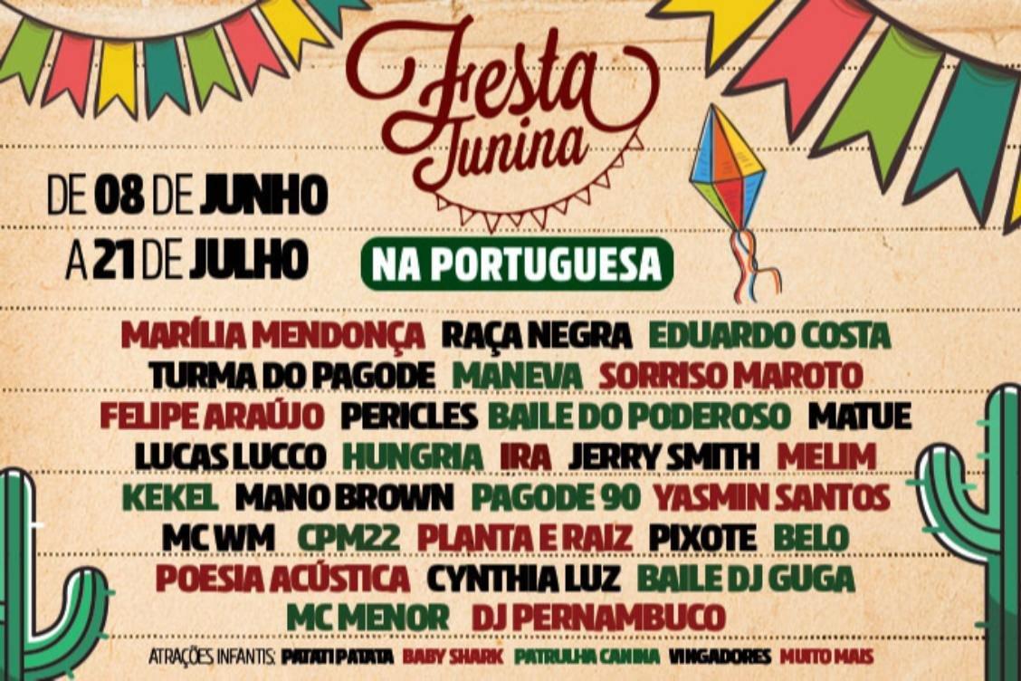 Festa Junina Na Portuguesa Im Estádio Da Portuguesa São