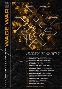 Games With Gold January 2020.Wage War At Muziekcentrum Trix Antwerpen On 28 Jan 2020