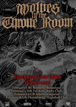 Wolves In The Throne Room Im Botanique Brussels Am 3 Feb