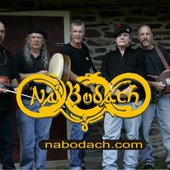 Andy Redmond (center) with Na'Bodach