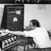 Alvin Lucier at Brandeis University, Waltham, MA