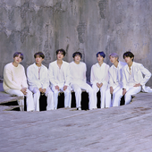MAP OF THE SOUL: 7 Concept Photo Sketch