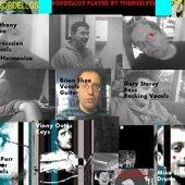 Inside cover to The Bordellos second album Meet The Bordellos